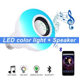 Wholesale Wireless Speaker Smart Led Light Music Player Bluetooth In-ceiling Speakers