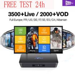 Wholesale IPTV Italy M3U Premium Italia smart tv android tv box linux