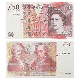 Play Kağıt Baskılı Para Oyuncaklar İNGILTERE Pounds GBP İngiliz 10 20 50 Hatıra Prop Para Oyuncak Çocuklar için Noel Hediyeleri veya Video Film