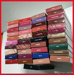 venda por atacado 4 em 1! K Lip Kit Makeup Conjuntos de Lipstick Lipstick 41 Cores Não-Stick Linha Caneta Matte Batons 1set = 1Lipstick + 1lipliner + 1EleLiner + 1pencil Sharpener