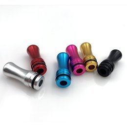 best drip tips 2021 - Best Price Metal Drip Tip Aluminum 510 Drip Tip Mouthpiece For EGO DCT ViVI Nano CE4S CE5S K1 Atomizer