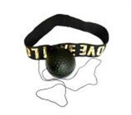 Toptan satış Boks Refleks Hız Topu Kafa Bandı Ile MMA Muay Thai Dövüş Topu Egzersiz Geliştirme Hız Reaksiyonları Yumruk Boks Eğitimi 99 W2