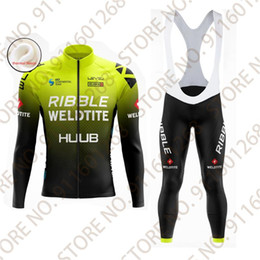 Wholesale Racing Sets HUUB Jersey Winter Thermal Fleece Men Cycling Clothes Bicycle Tights Mountain Outdoor Wear Maillot Cyclisme