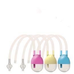 Носовая слизь Аспиратор Детский Безопасный Нос Очиститель Вакуум Всасывание Назал Снящая Ударный Аспиратор Вдыхание Для Baby 2005 Y2 на Распродаже