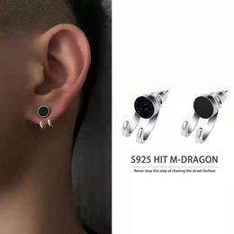 Wholesale Popular Body Arts Hip Hop boys Stud Earrings Fashion Stainless steel Earring jewelry for men women