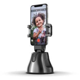 Custom Logo 360 Rotation Auto Face Object Tracking Selfie Stick Smart Shooting Camera Phone Holder on Sale