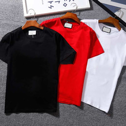 Wholesale hip hops resale online - hair stylistmens t shirt ladies mask summer hip hop black white short sleeve M XXXL