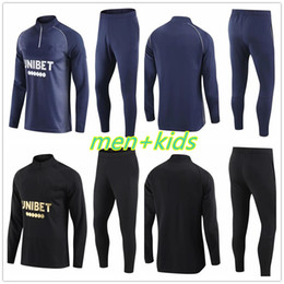 venda por atacado Glasgow Rangers Mens + Kids Tracksuit Survection 2020 2021 Defoe Hagi Morelos Kent Futebol Treinamento Futebol Jogging