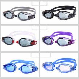 2021 заправка очки мужчины женские очки портативный унисекс взрослые плавательные очки кадр бассейна спортивные очки очки осматривают водонепроницаемые стекла на Распродаже