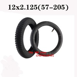 Wholesale Motorcycle Wheels & Tires Superior Quality 12x2.125 (57-205) Inner And Outer For Children's Bicycles Strollers