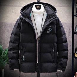 wholesale feather jackets UK - RN8EHot Sale Men Winter Down Jacket luxury Feather Hooded 2020 Winter Jacket Coat Windproof fear of god true religions Men's