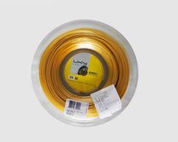 Marke Tennis Saiten Black Rolle 17L 1,25 MM KELIST ALU Power Group 125 Qualität Polyester Tennis String Rolle Qyljcj abc2007 im Angebot
