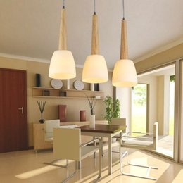 led luminaire design 2021 - Modern Led Pendant Lights Wood Lighting Fixture Restaurant Lights Glass Lamp Nordic Design Luminaire White Warm Luster
