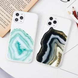 Wholesale silicon apple phone case resale online - Marble Phone Case For iPhone S Plus S SE Soft TPU Cover For Apple iPhone Pro Pro XS Max X XR Silicon Fundas