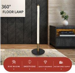 Lâmpadas levou lâmpadas de chão suportam sala de estar luz de estar de pé à beira da cabeceira decoração de casa luminárias de canto interior iluminação em Promoção