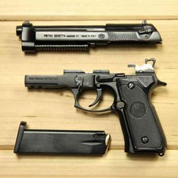 Wholesale 1: 2.05 Empire throwing shell model metal alloy Beretta m92a1 detachable and non launching