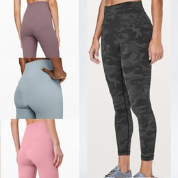 leggings yoga women shorts designer womens workout gym wear lu 32 68 solid color sports elastic fitness lady overall tights short v6dv2c88f