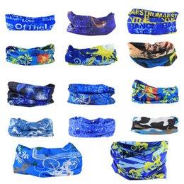 Опт Дизайн Bandanas шарфы многофункциональные открытый балаклава велосипедные маски шарф волшебный тюрбан солнцезащитный крем ленты волос езда кепки много стилей