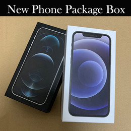 Caixa de embalagem de telefone novo de alta qualidade para iPhone 12 12Mini 12Pro 12Pro max phone box em Promoção
