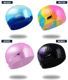 Wholesale 2021 Silica gel Swimming cap PURE COLOR waterproof breathable comfortable aaa777 coated cap men and women adult rainbow