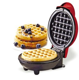 Mini Waffle Pot Electric Waffles Maker Bubble Egg Cake Oven Breakfast Waffle Machine Egg Cake Oven Pan Paninis Eggette Machine on Sale