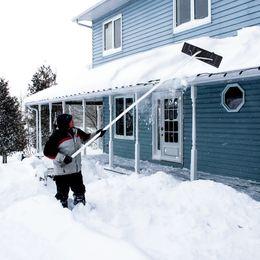 Опт Waco Snow Rakes для крыши и автомобиля, удлинительное облегченное утилизация снега Shovel 1,2 м 5 секций 20feet