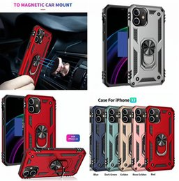 Discount customized finger rings Car Holder Metal Finger Ring Bracket Case For Iphone 12 Mini 11 Pro Max X XS XR SE2 SE 2020 7 Plus 8 6 6S 5 5S Armor Hybrid Shockproof Cover