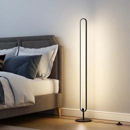 Wholesale Modern Luxury Floor Lamp Transparent Table Lamp Simple Modern study led floor Light for Bedroom Livingroom