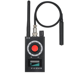 Wholesale camera spies resale online - 1MHz GHz K18 Multi function Anti spy Detector Camera GSM Audio Bug Finder GPS Signal lens RF Tracker Detect Wireless Products