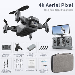 KY905 Mini Drone with 4K Camera HD Foldable Drones Quadcopter One-Key Return FPV Follow Me RC Helicopter Quadrocopter Kid's Toys on Sale