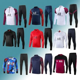 vendre des vestes achat en gros de-news_sitemap_homeHOT SHOPING FOOKING TRAOK SUPPORT SWEATHIRT MBAPPE À manches longues Maillot de Foot Di Maria Verratti Football Jogging Veste Tracksuit