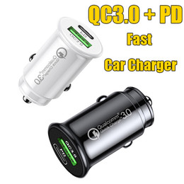 usb plug for car NZ - PD Fast Car Charger QC 3.0 Quick Charger Type-C USB Plug New Mini Size Power Adaptor For Iphone Samsung Fast charging 18W