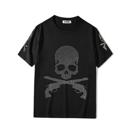 skull bones shirt Canada - 2021 New Luxury Men Mastermind Mmj Skull Bone Diamond t Shirts T-shirt Hip Hop Skateboard Parkour Street Cotton T-shirts Tee Top N150 Zyw2