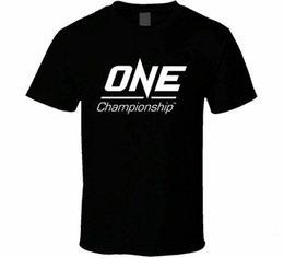 Boys Tee One Championship Kick Boxing Sports Men t Street Wear Fashion Tee Shirt Children's Clothing