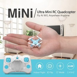 Cheerson CX-STARS World's Smallest Drone 2.4Ghz 4CH 6-axis Mini 360 Roll RC Drones Pocket Hand Throw RC Helicopter For Kids Gift 210325 on Sale