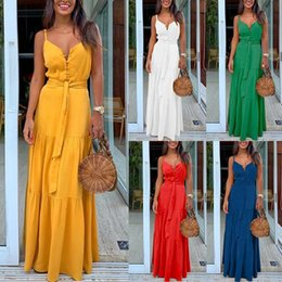 Wholesale tropical dresses for sale - Group buy Party Night Elegant Sexy Maxi Summer Dresses Multicolor Tropical Jungle Leaf Boho Long Dress Sling Cross Back Plus Size Casual