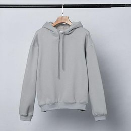 Wholesale hoodies couples for sale - Group buy High Quality Hoodies Famous Men Women Couples loose Casual Pullover Sweatshirt Mens Hoodie gray size S XL