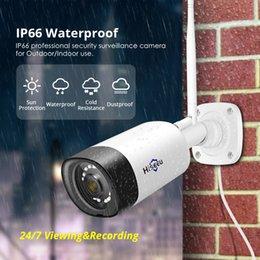 Hiseeu Wireless Outdoor IP-камера 1536P 1080P водонепроницаемый 3MP CCTV Security WiFi двусторонняя аудио P2P Bullet Hysee Cloud App приложение на Распродаже