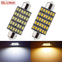 41mm 42mm C10W LED Car Lights Festoon Interior Dome Map Light License Plate Trunk Bulb Lamp Auto Styling Warm White 12V DC Emergency on Sale