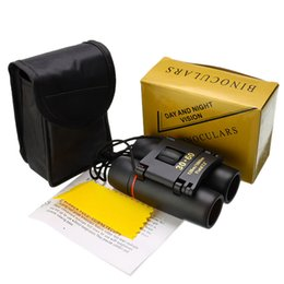 Wholesale Telescope 30x60 Folding Binoculars with Low Light Night Vision for outdoor bird watching travelling hunting camping 1000m 435 X2