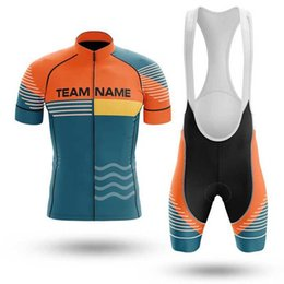 Wholesale Racing Sets SPTGRVO Pro Custom Made Cycling Set Team Bicycle Riding Clothes Kit Customized MTB Jersey Bib Shorts Suit Maillot Cyclisme Homme