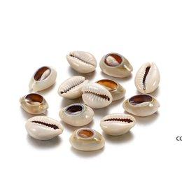 Опт 50 шт.лот натуральный небольшой моря Conch Phage Shell DIY ювелирные изделия находки аксессуары поставляет Seashell ожерелье браслет бисером DHE7132