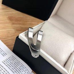 Luxury Designer men Money Clips High Quality V-shape Wallet Golf Bar Occasion with stamp
