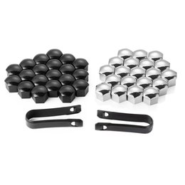 16 Pieces Wheel Nut Rim Cover Tyre Screw Cap Decor For Peugeot 207 301 307 308 408 508 3008 C4l C5 C2 on Sale