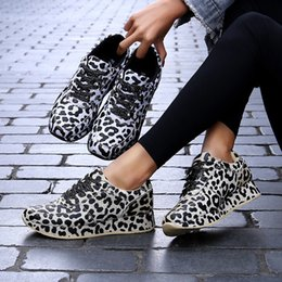 Wholesale amazon printing for sale - Group buy Amazon Womens Shoes European and American Fashion Trend Leopard Print Womens Shoes plus Size Sneakers Sneakers Female