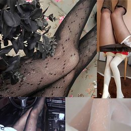 Women Sexy Stockings Summer Trendy Lady Socks Hosiery High Waist Tights Thigh Pantyhose Ins Style Fashion Letter print underwear on Sale