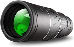 Wholesale Monocular Telescope Waterproof 16x52 Dual Focus Optics Zoom Day & Low Night Vision Clear FMC BAK4 Prism for Bird Watching