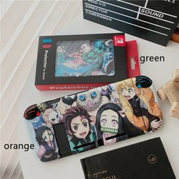 Discount play stations games Comics Silicone Case for Nintendo Switch Game Console Full Protective Anime Play Station Soft Matte Cover Shockproof Fashion Design