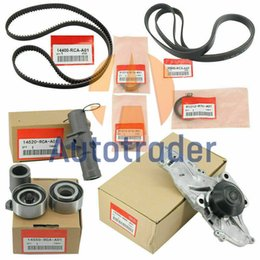 9IN1 OEM Timing Belt & Water Pump Kit 19200-RDV-J01 91213-R70-A02 14400-RCA-A01 For HONDA ACURA Accord Odyssey V6 on Sale