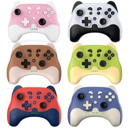 Game Controllers & Joysticks L74B Wireless Controller Bluetooth-compatible Gamepad With 6-axis Motor For Switch on Sale